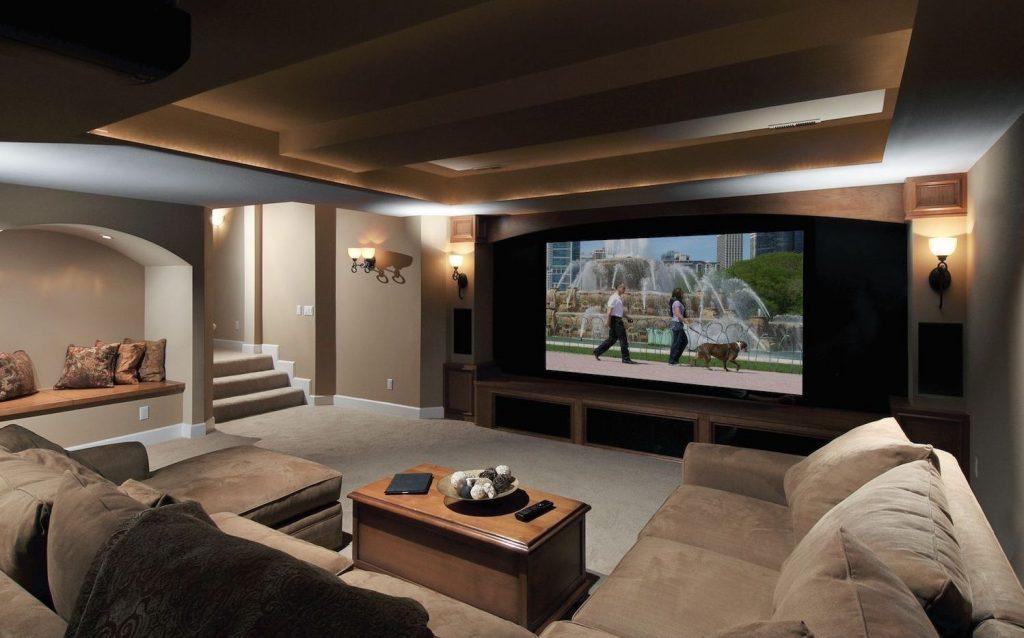 home cinema premium lujo casa
